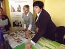 W czasie targów stoisko filii WUP odwiedziło wielu zainteresowanych.