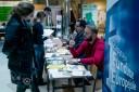 Stoiska informacyjno-promocyjne przygotowały instytucje wspierające przedsiębiorczość
